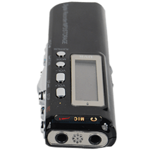 digital voice - telephone with MP3 player function top view