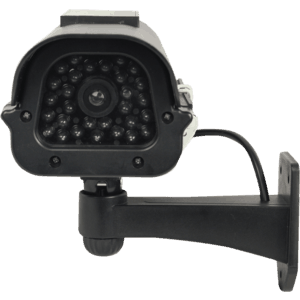 solar powered dummy camera front view
