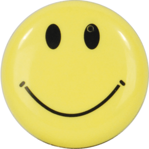 smiley face button hidden camera with built-in DVR